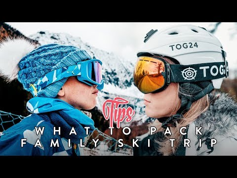 FIRST Family SKI Trip // What to pack