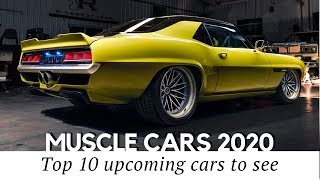 10 New Muscle Cars and Latest Restomods an Auto Enthusiast Shouldn't Miss