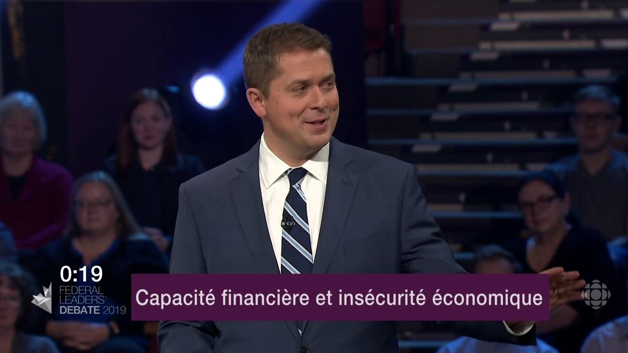 Yves-François Blanchet et Andrew Scheer débattent sur la péréquation