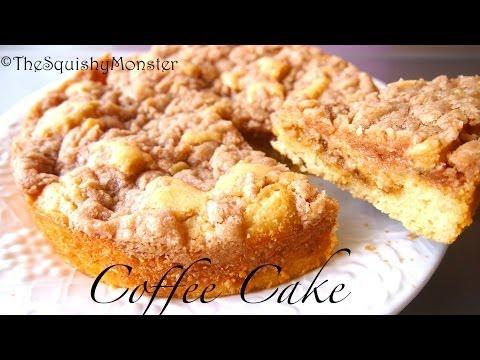 How to Make Coffee Cake - Moist Cake Recipe