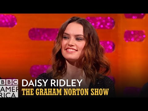 Daisy Ridley Couldn't Celebrate Getting Star Wars - The Graham Norton Show