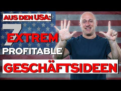 , title : '7 EXTREM profitable Geschäftsideen für 2020 - Ideen aus den USA