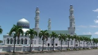 preview picture of video 'Malaysia / Borneo-Sabah - Moschee Masjid Bandaraya'