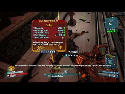 how long did it take you to get a bee in uvhm borderlands 2
