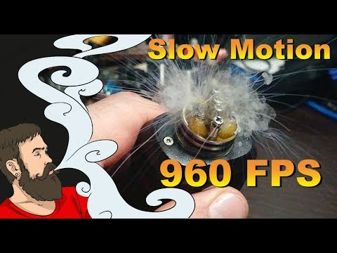 Vape Slow Motion 960 fps. Мелочи, которые мы не замечаем