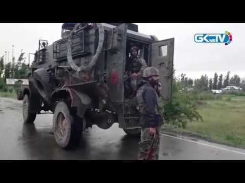 Militants attack army vehicle with IED in Pulwama
