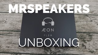 Unboxing: MrSpeakers ÆON Planar Magnetic Headphones