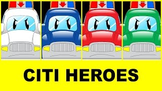 "Cartoons Trailer @""Citi Heroes"""