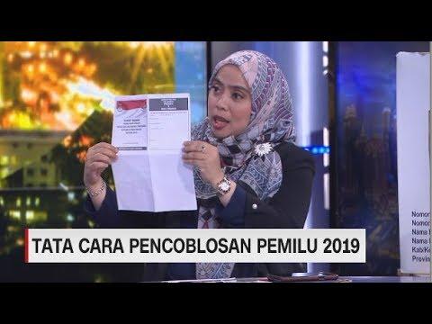 TATA CARA PENCOBLOSAN PEMILU 2019
