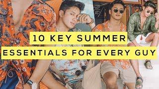 10 Key Summer Essentials For Every Guy | Mens Fashion | David Guison