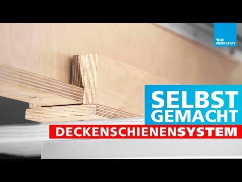 (1/4) Deckenschienen-System selber bauen / Laufkatzen selber machen / DIY