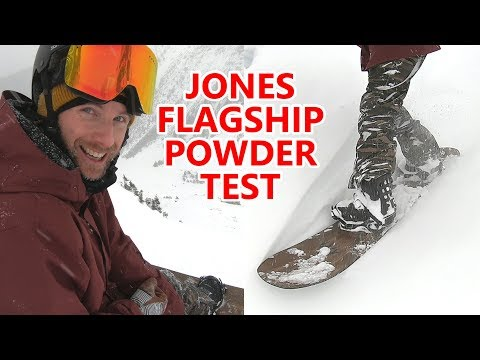 Testing the Jones Flagship Snowboard in Powder