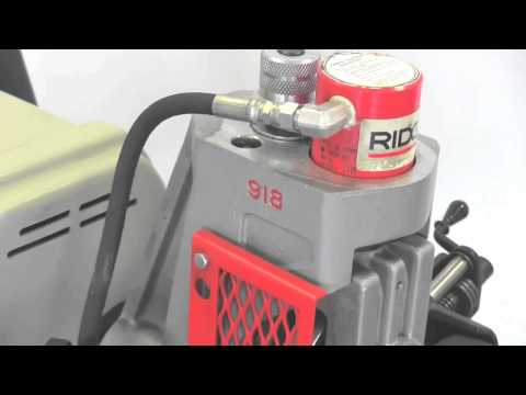 Product Overview - 918-I Roll Groover