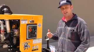 How to Operate a Concrete Pump (BASIC)