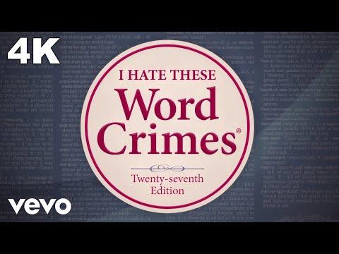 """Weird Al"" Yankovic – Word Crimes"