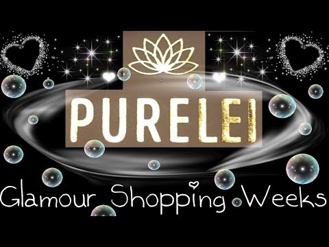 Purelei Unboxing Ketten - Glamour Shopping Weeks 10/2019 4K60fps