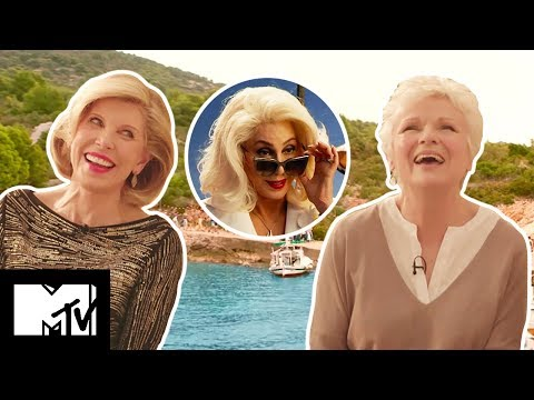 Mamma Mia! Here We Go Again Cast Reveal Sexy Onset Fail! | MTV Movies