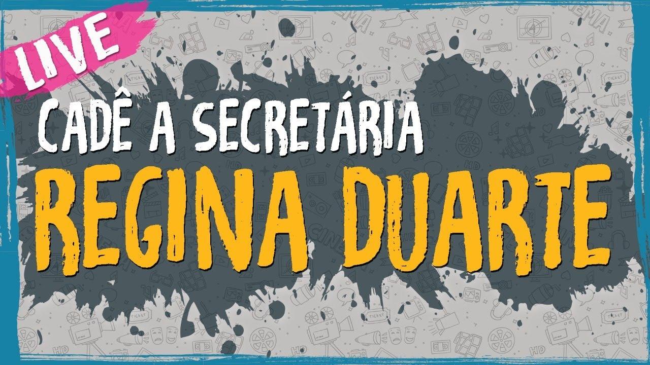 Cadê a Secretária – Regina Duarte – Live