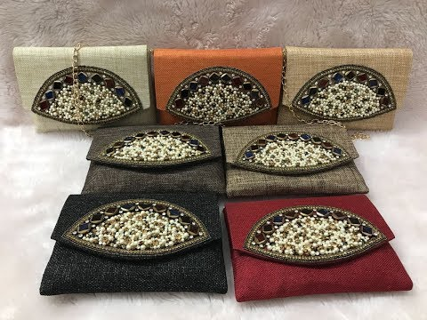 Stylish Jute Clutch Bag