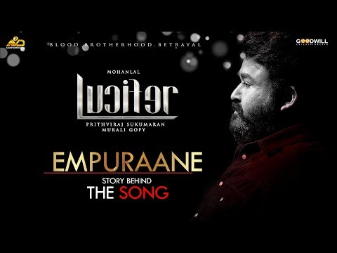 Empuraane Song - Lucifer