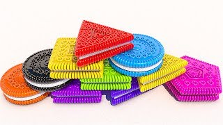 Teach Shapes and Colors with 3D Cookies for Kids and Children