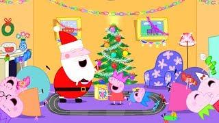 Peppa Pig Français   Compilation d'épisodes   45 Minutes - Noël 4K!   Dessin Animé Pour Enfant