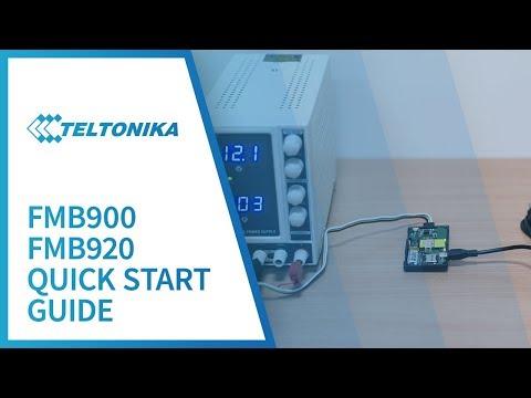 Teltonika FMB920 Quick start guide