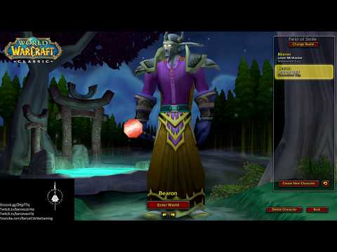 WoW #145 - Classic WoW Beta - lvl 58 Druid - Alterac Valley