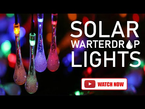 Solar Outdoor Decorative String Lights for Diwali Decorations