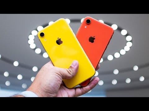 iPhone XR hands-on