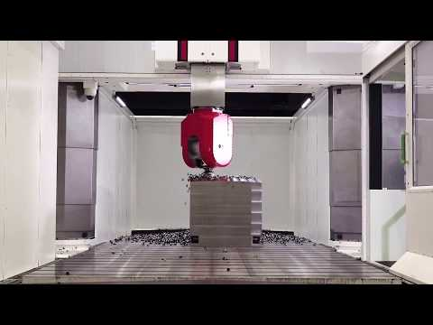 High Performance 5-axis cutting on TAURUS