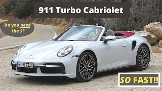 The 2021 Porsche 911 Turbo Cabriolet Puts Wind in Your Face at 200 MPH - Two Takes by The Smoking Tire