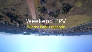 Winter Park Freestyle...// FPV Drone Freestyle // Weekend FPV