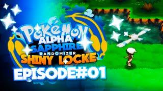 "Pokemon Alpha Sapphire Randomizer ShinyLocke Let's Play W/ ADrive Ep 1 ""Sparkling New Adventure"""