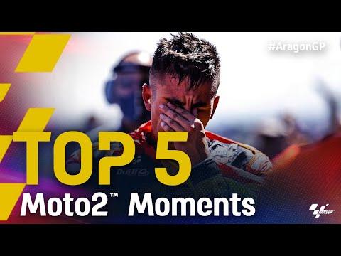 Moto2 2021 第13戦アラゴンGP 決勝レースハイライト動画