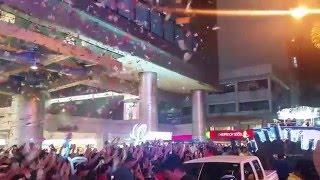 Miss Universe 2015 Pia Wurtzbach Homecoming Parade at Araneta Center