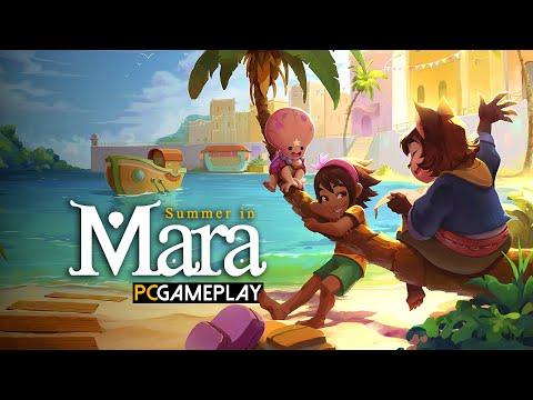 Gameplay de Summer in Mara