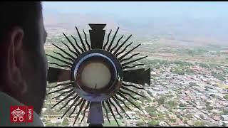 Sobre vuelo de la Virgen de Suyapa y el Santísimo Sacramento 2020 03 29