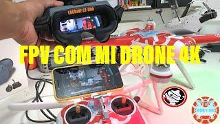 FPV COM XIAOMI MI DRONE EACHINE EV900 ÚNICO MÉTODO QUE FUNCIONA DE VERDADE #fpv #midrone #fjrdrones