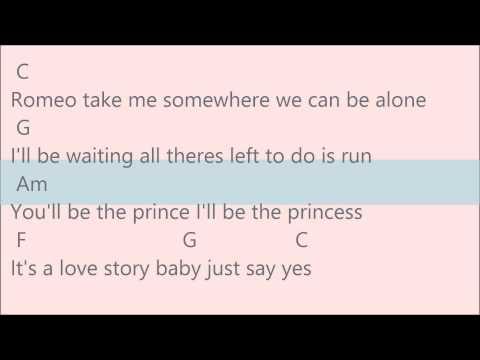 mp4 Love Story Chord, download Love Story Chord video klip Love Story Chord