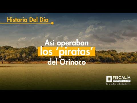 Así operaban los 'piratas' del Orinoco