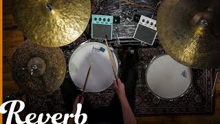 Using The Roland SPD::ONE Pads on Acoustic Drum Kit with Jordan West | Reverb Demo Video