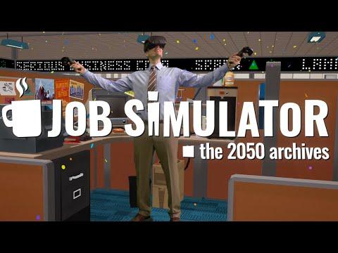 Job Simulator Has The Best Trailer