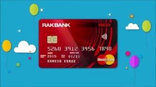 Introducing RAKBANK RED Credit Card
