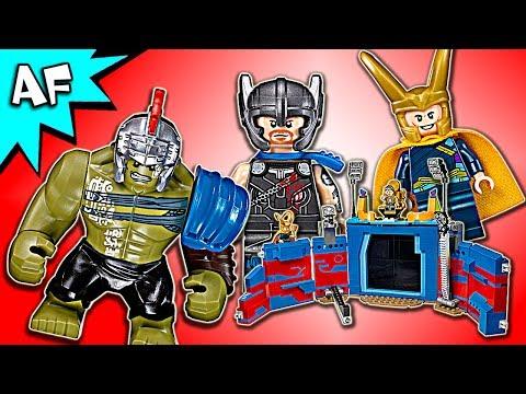 Vidéo LEGO Marvel Super Heroes 76088 : Thor contre Hulk : le combat dans l'arène