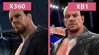 WWE 2K17 – Xbox 360 vs Xbox One Graphics Comparison