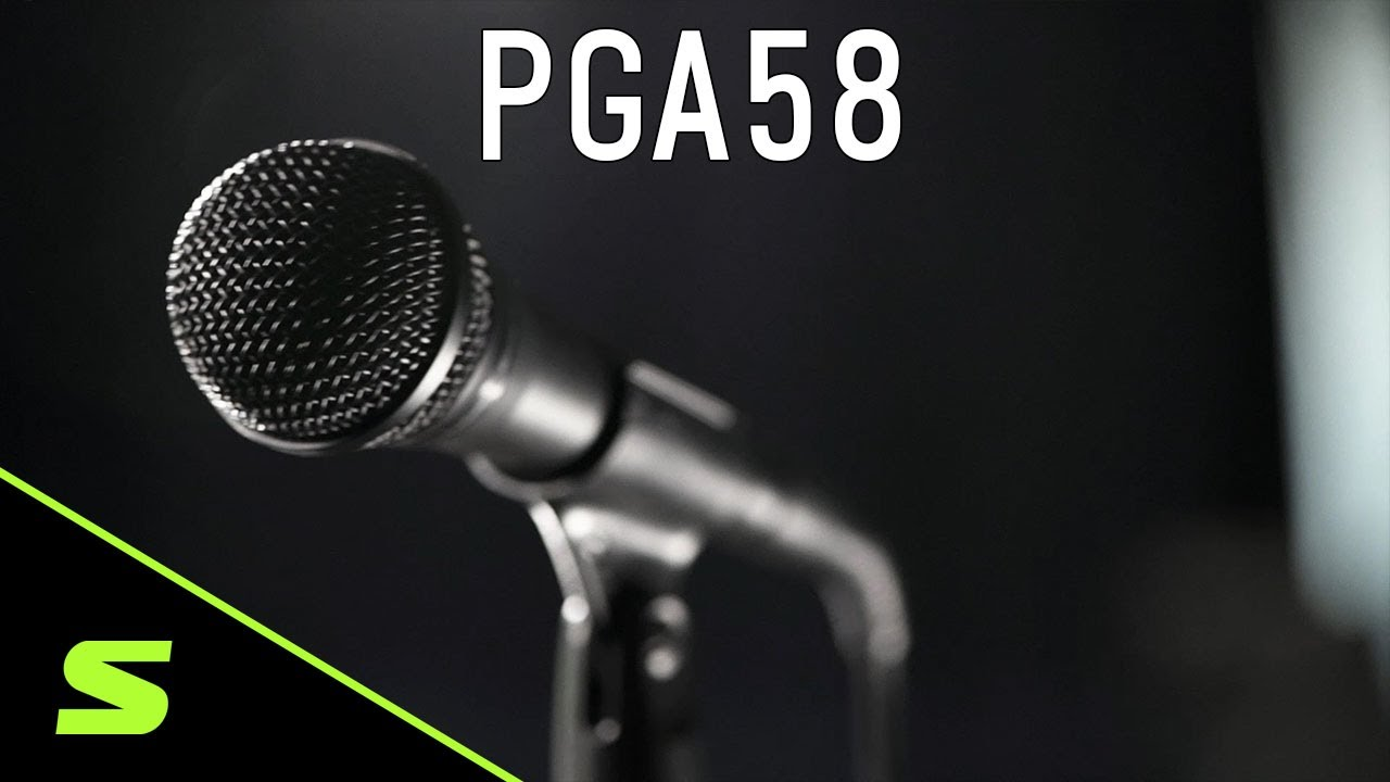Shure PGA58 Vocal Microphone - Product Overview