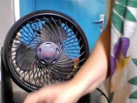 Como abrir o ventilador Honeywell para limpar - Parte 2