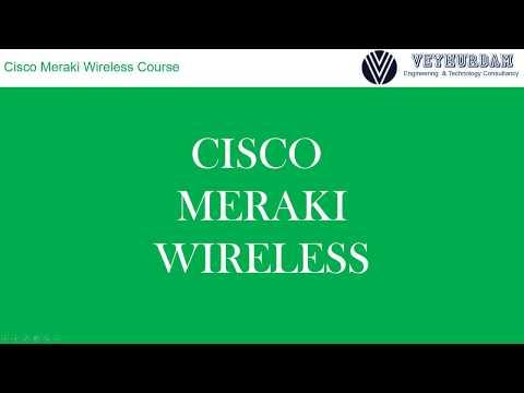 Cisco Meraki Wireless Course with Labs - YouTube