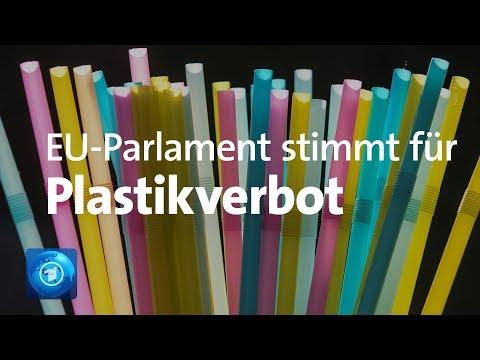 EU-Parlament stimmt für Verbot von Einwegplastik